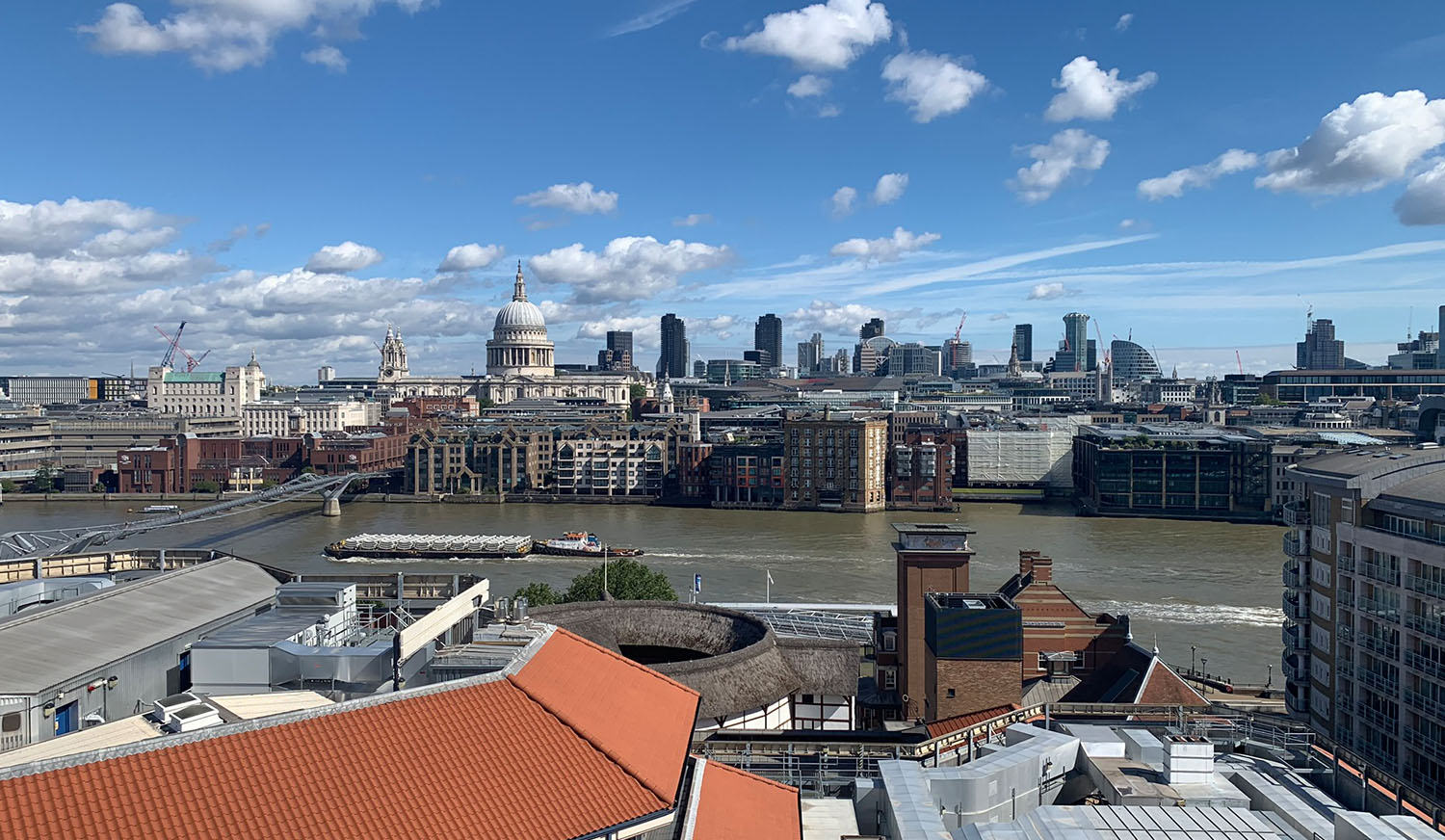 View across the Thames from Triptych